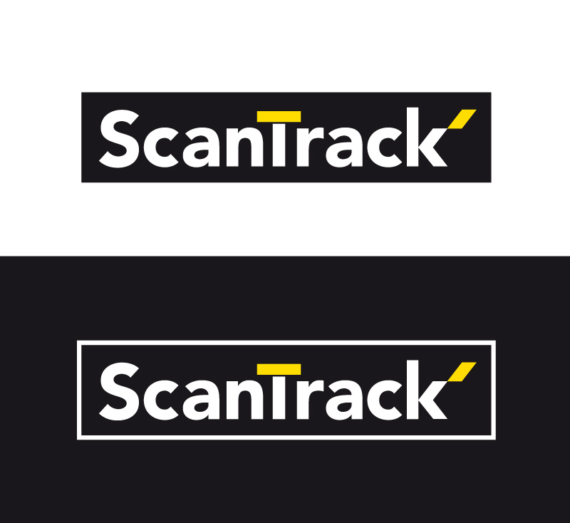 Scantrack heavy machinery parts logo